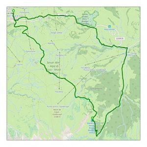 Rundtour Compatsch – Mahlknechthütte – Saltria – Compatsch