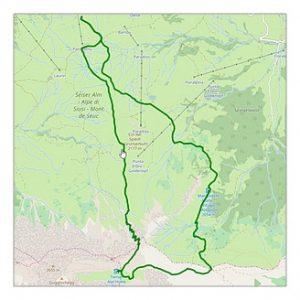 Wanderung vom Santner über die Rosszahnscharte zur Tierser Alpl Hütte